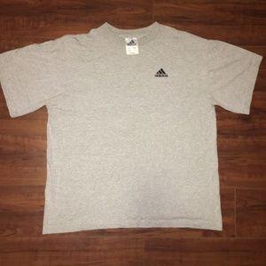 Vintage Thick Adidas T-Shirt W/ Logo - Mens - L